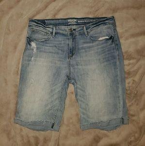 Levi's Sz 16 Stretch Modern Skinny Jean Shorts